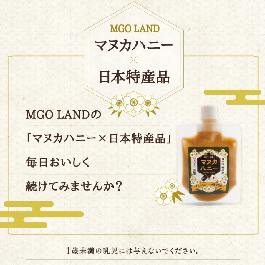 マヌカハニー お試し MGO 220 国産 天然素材 マヌカ の花の はちみつ  マヌカ蜂蜜 100g|shizenshop|16