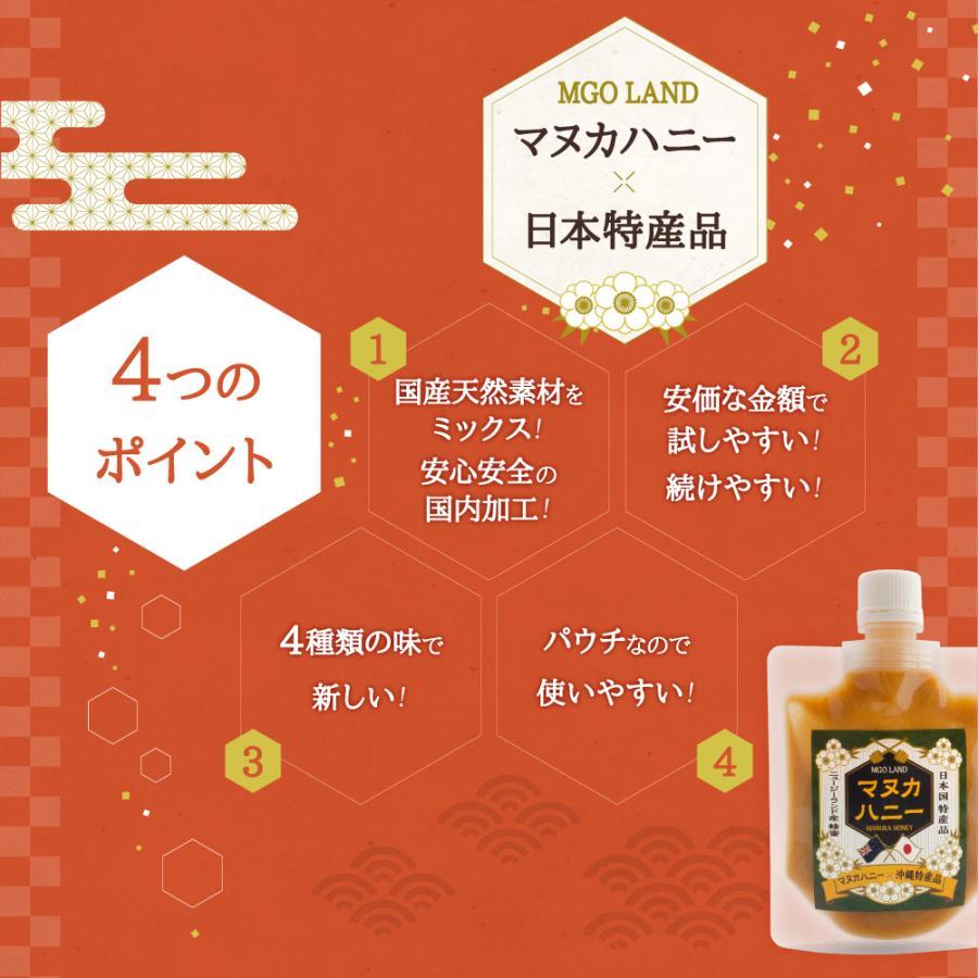 マヌカハニー お試し MGO 220 国産 天然素材 マヌカ の花の はちみつ  マヌカ蜂蜜 100g|shizenshop|10