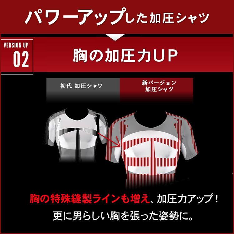 加圧シャツ メンズ 半袖【スパルタックス】加圧インナー Tシャツ 着圧インナー 着圧ウエア トップス コンプレッションウェア スポーツインナー|shizenshop|12