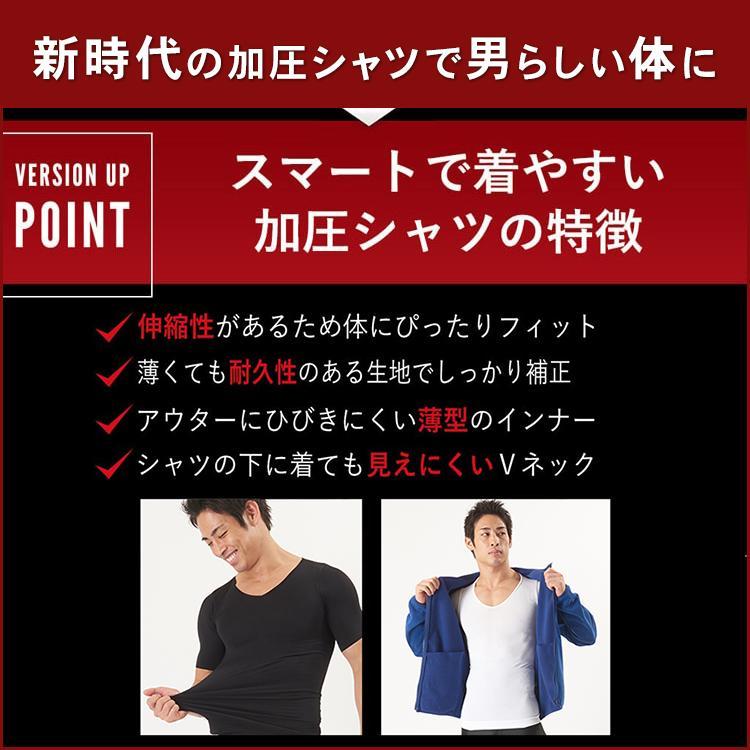 加圧シャツ メンズ 半袖【スパルタックス】加圧インナー Tシャツ 着圧インナー 着圧ウエア トップス コンプレッションウェア スポーツインナー|shizenshop|15