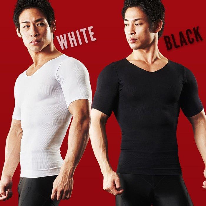 加圧シャツ メンズ 半袖【スパルタックス】加圧インナー Tシャツ 着圧インナー 着圧ウエア トップス コンプレッションウェア スポーツインナー|shizenshop|05