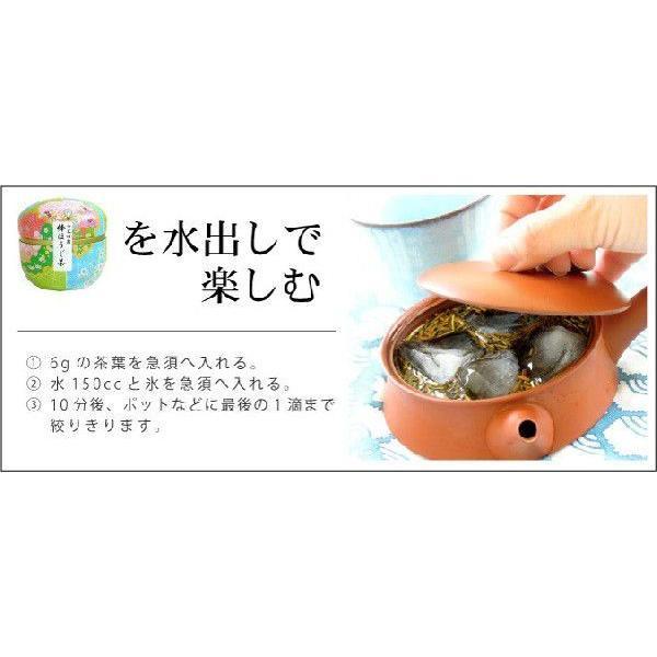 敬老の日 プレゼント 静岡茶ギフト 鈴子缶2個セット 贈り物に お茶の葉桐 煎茶ほうじ茶 かわいいお茶缶入り日本茶ギフト|shizuokahagiricha|09