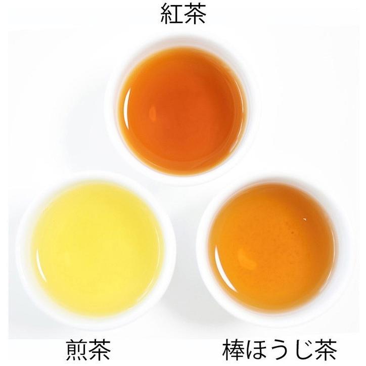 送料無料 静岡茶ギフト 鈴子缶3個セット 贈り物に お茶の葉桐 煎茶 ほうじ茶 和紅茶 日本茶詰め合わせ|shizuokahagiricha|08