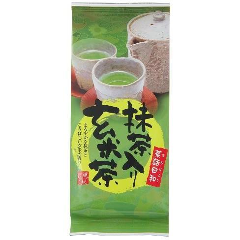 抹茶入り玄米茶 200g shizuokaochaya