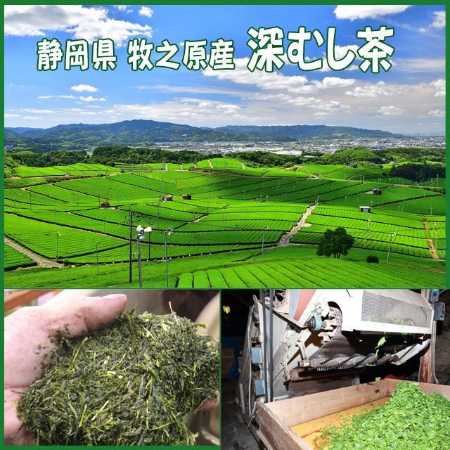 深むし茶 牧之原産 200g×3袋 送料無料|shizuokaochaya|04