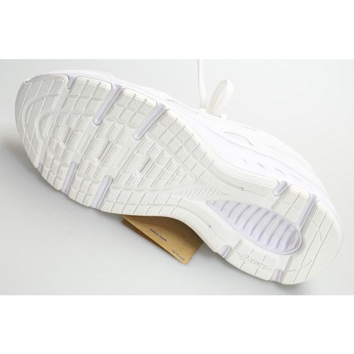 アシックス ランニングシューズ レディース 白 ホワイト 通学 3E shoes-tomimoto 04