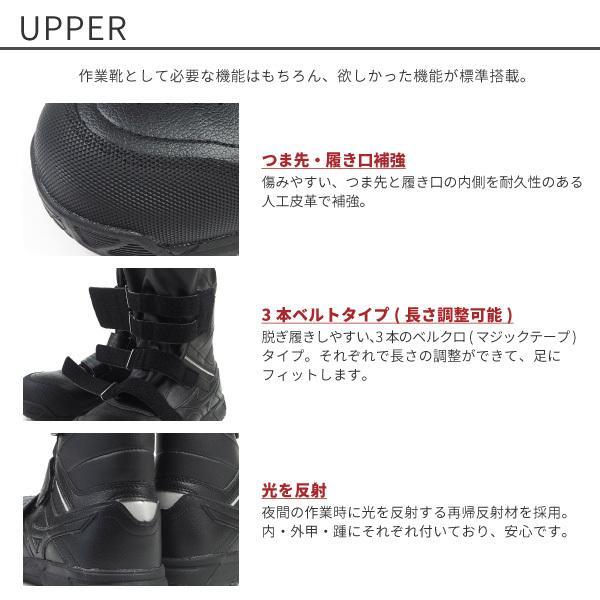 ミズノ mizuno プロテクティブスニーカー 半長靴 安全作業靴 ALMIGHTY BS29H オールマイティBS29H F1GA2102 メンズ 樹脂先芯 JSAA規格A種 shoesbase2nd 04