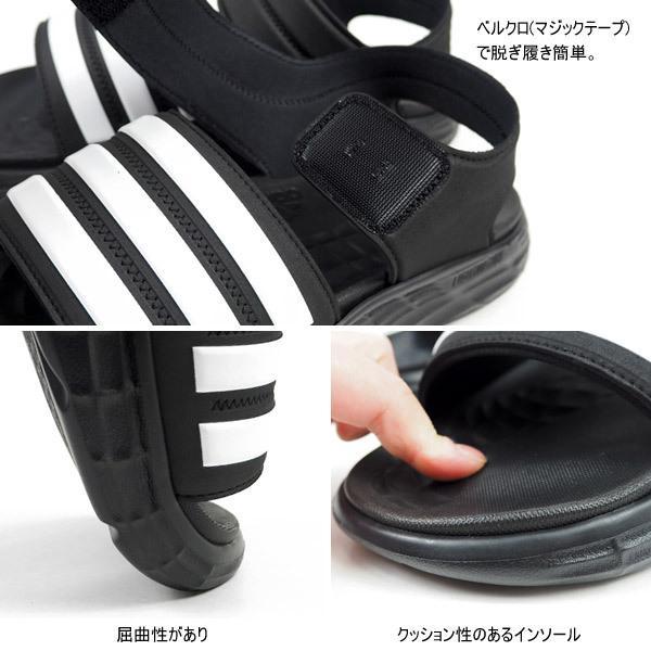 アディダス adidas スポーツサンダル DURAMO SL SANDAL FY6035 メンズ レディース サンダル ジュニア 歩きやすい|shoesbase2nd|03