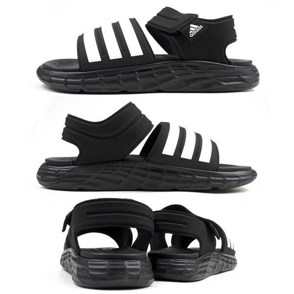 アディダス adidas スポーツサンダル DURAMO SL SANDAL FY6035 メンズ レディース サンダル ジュニア 歩きやすい|shoesbase2nd|06