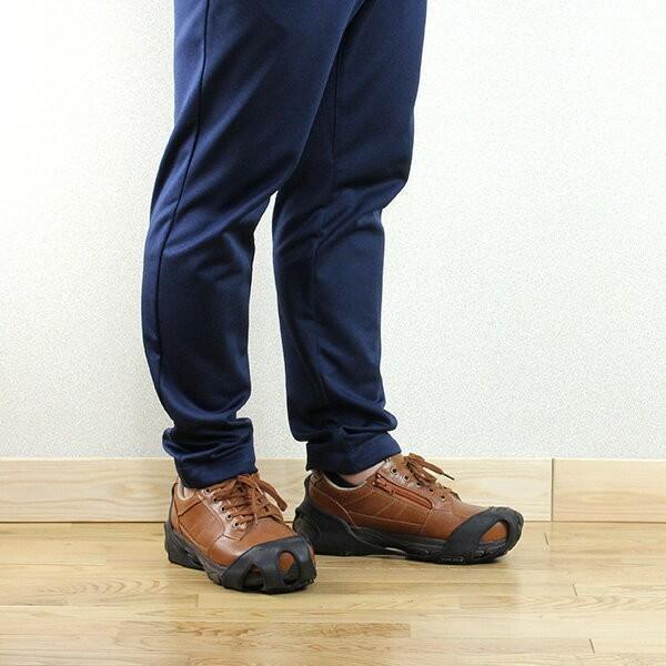 氷雪用スタッドレスソール ハイパーV スタッドレスソール 滑りにくい靴 日進ゴム 滑りにくい靴 22.5cm-30.0cm メール便発送送料無料、代引不可 シューズクラブC shoesclubc 18
