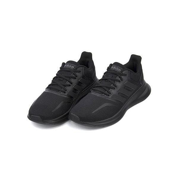 アディダス スニーカー レディース ファルコンランW FALCONRUN W adidas F36216 コアブラック/コアブラック/コアブラック