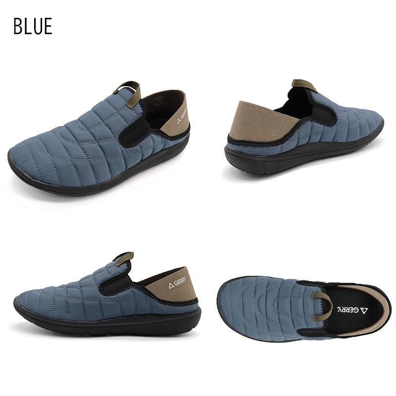 GERRY ジェリー スリッポンスニーカー メンズ アウトドア靴 2WAYモックシューズ 軽量 難燃 黒 黄 カーキ shoesstore-reodert 12