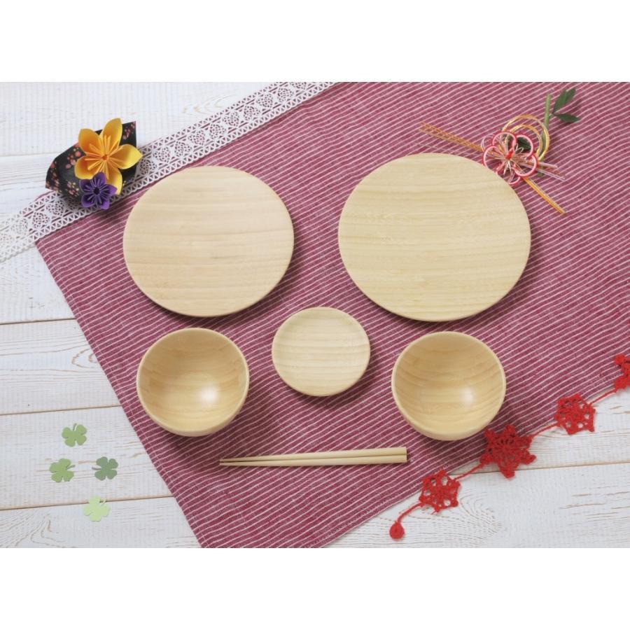 お食い初め用器(竹)6点セット ギフトボックス shojikiya 02