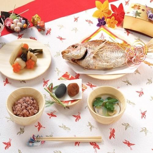 お食い初め用器(竹)6点セット ギフトボックス shojikiya 03