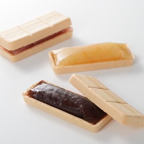 銀座割烹里仙  六彩味最中|shojikiya