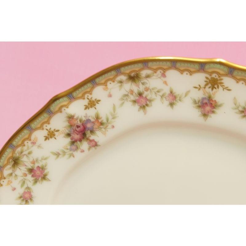 ノリタケ・ダイヤモンドコレクション #5539 ローズパレス ケーキ皿5枚セット|shokki|02