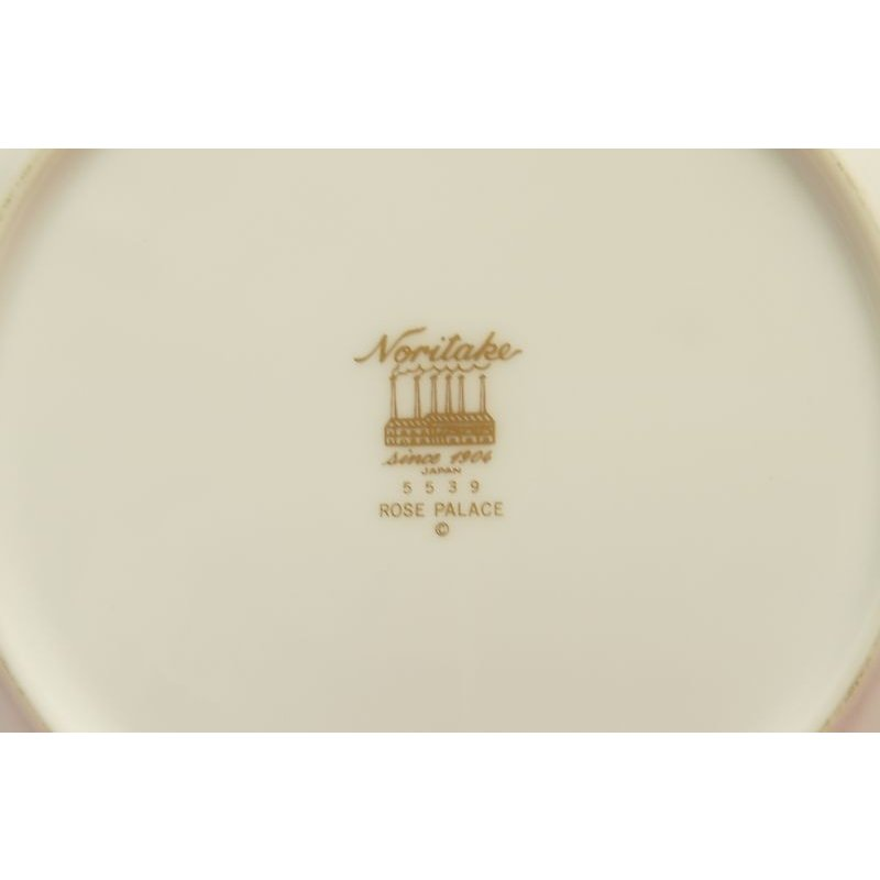ノリタケ・ダイヤモンドコレクション #5539 ローズパレス ケーキ皿5枚セット|shokki|03