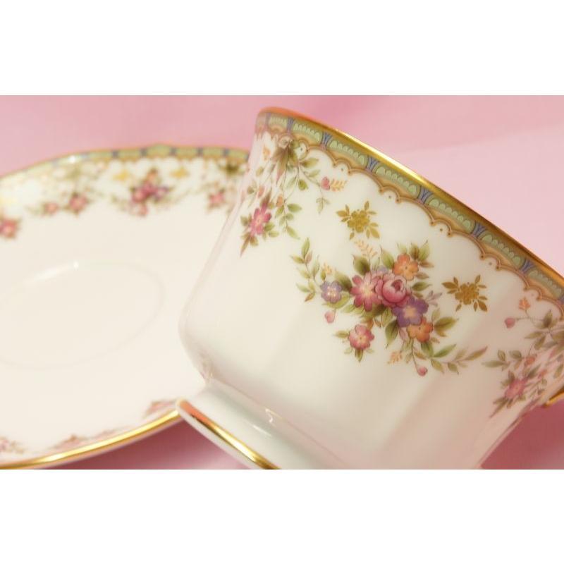 ノリタケ・ダイヤモンドコレクション #5539 ローズパレス ティー・コーヒー碗皿|shokki|03