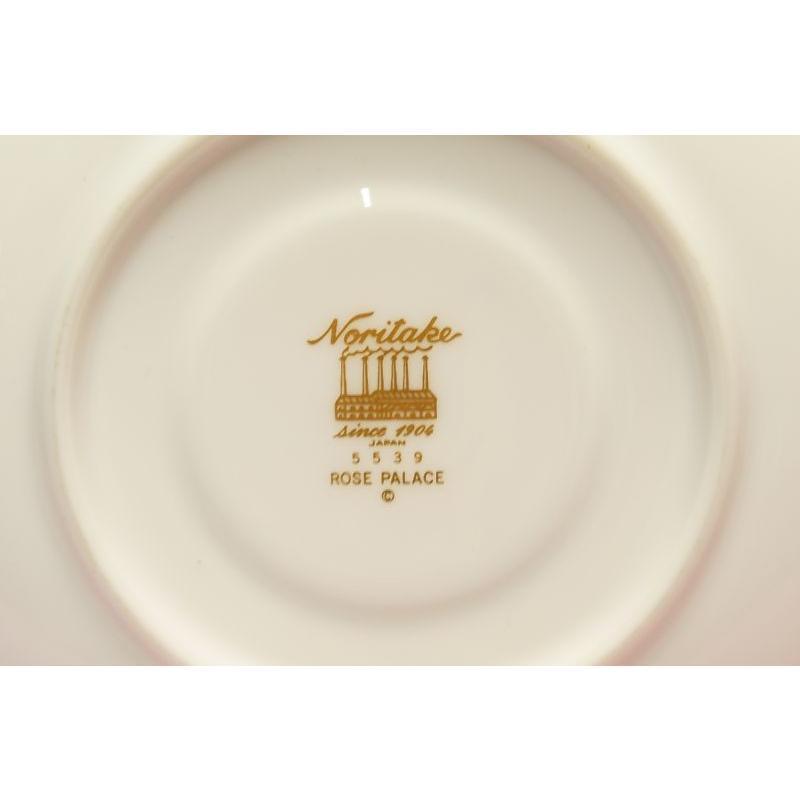 ノリタケ・ダイヤモンドコレクション #5539 ローズパレス ティー・コーヒー碗皿|shokki|04