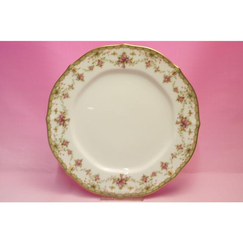 ノリタケ・ダイヤモンドコレクション #5539 ローズパレス 27cmディナー皿|shokki