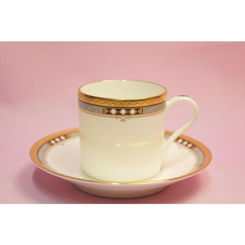 ノリタケ アールデコスタイル コーヒー碗皿|shokki