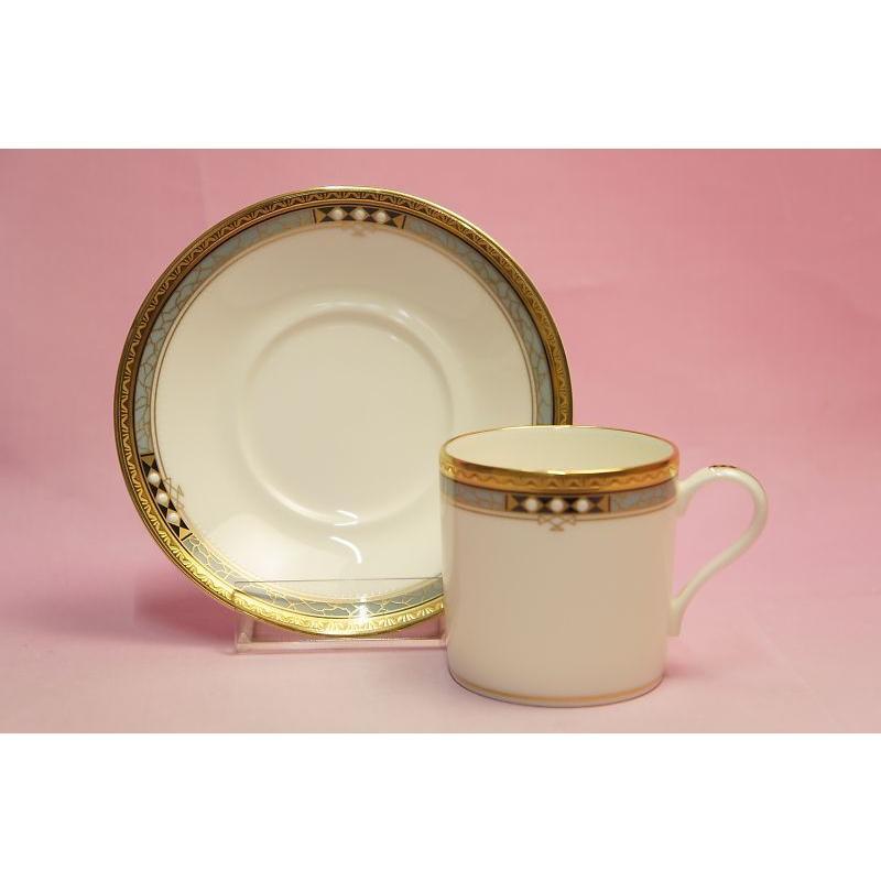 ノリタケ アールデコスタイル コーヒー碗皿|shokki|04