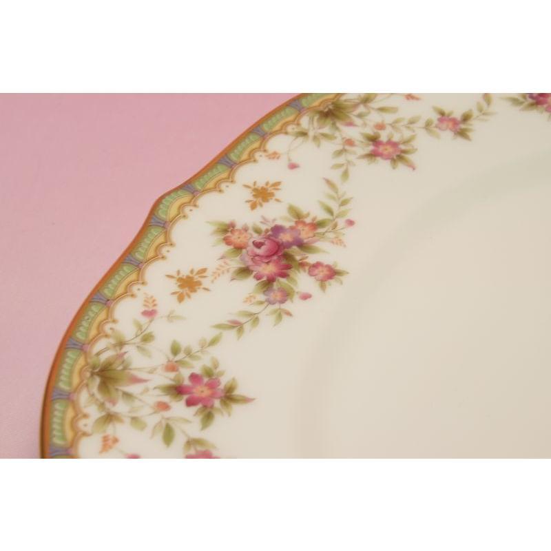 ノリタケ・ダイヤモンドコレクション #5539 ローズパレス 27cmディナー皿|shokki|02