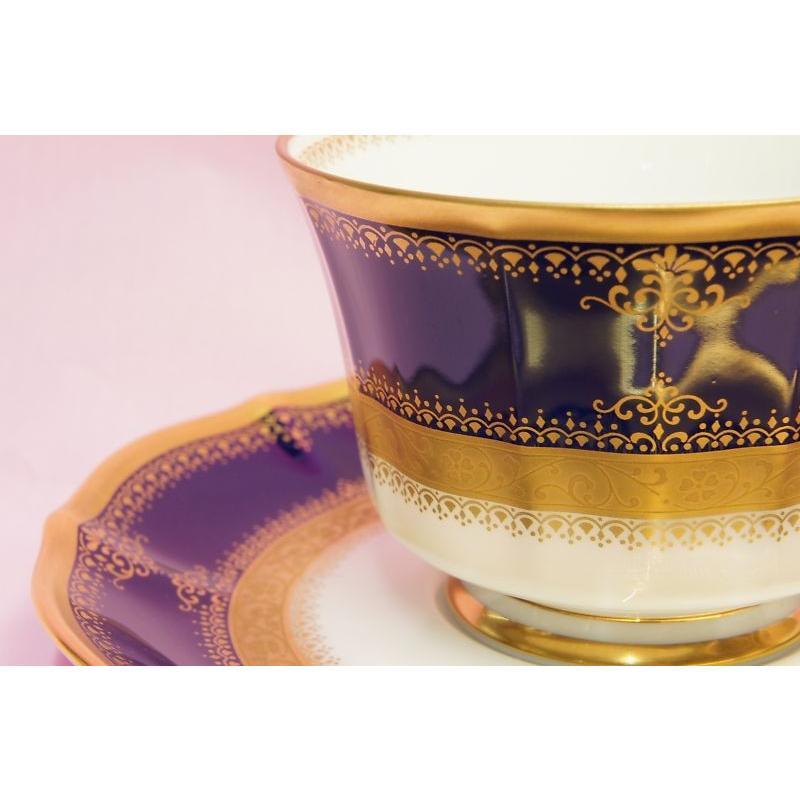 ノリタケ・ダイヤモンドコレクション #5535 イナギュレーション ティー・コーヒー碗皿|shokki|02