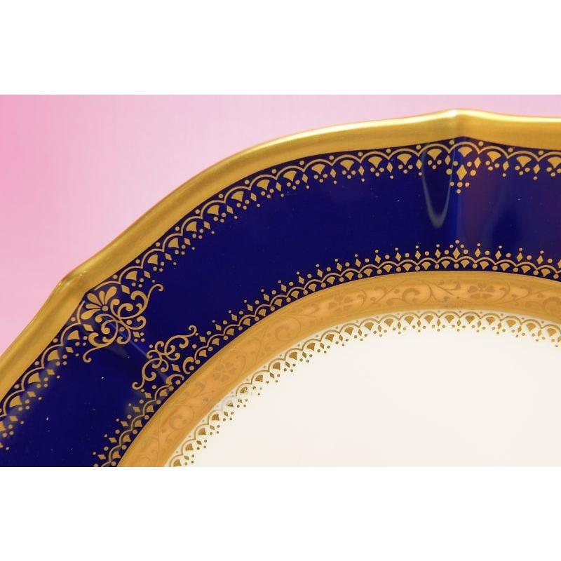 ノリタケ・ダイヤモンドコレクション #5535 イナギュレーション ケーキ皿5枚セット|shokki|02
