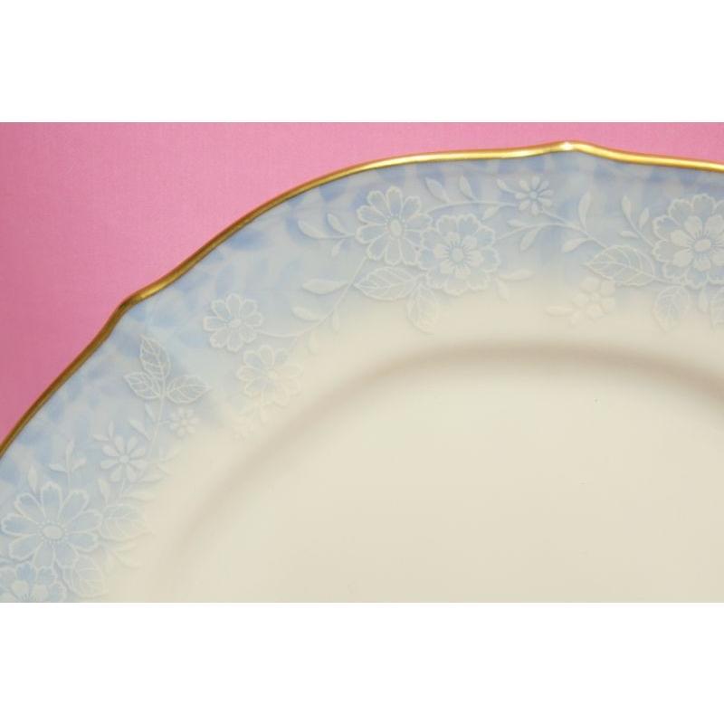 ノリタケ・ダイヤモンドコレクション #5538 フラワーインドリーム ケーキ皿5枚セット shokki 02
