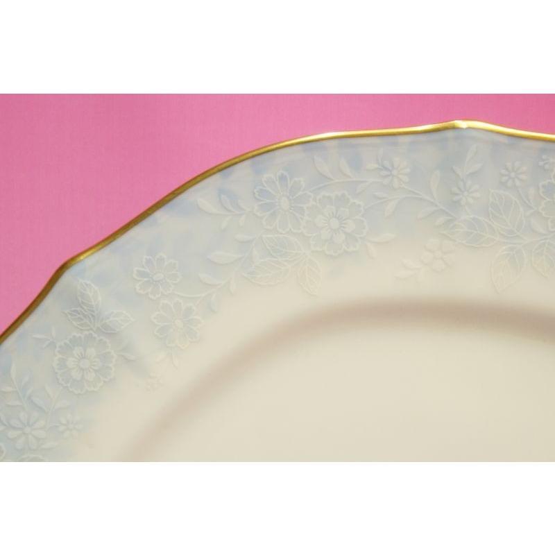 ノリタケ・ダイヤモンドコレクション #5538 フラワーインドリーム 27cmディナー皿 shokki 02