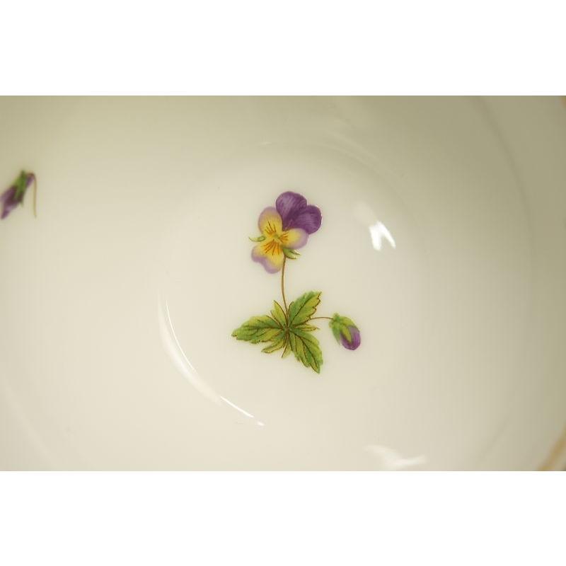 大倉陶園 パンジー ティー碗皿|shokki|03