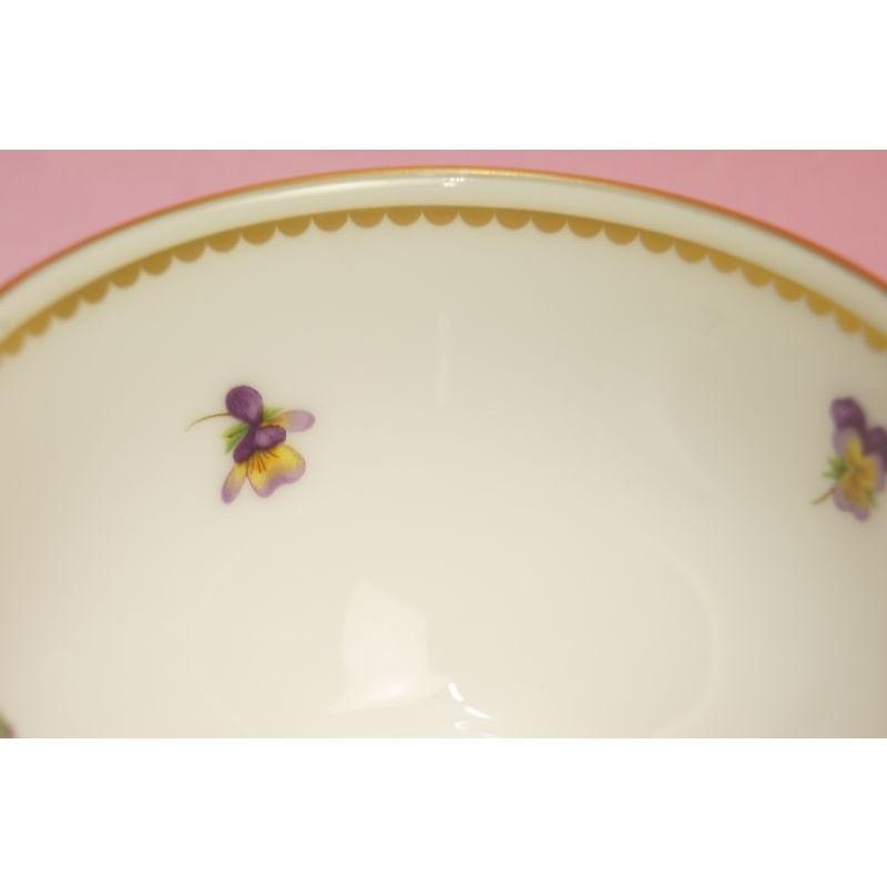 大倉陶園 パンジー ティー碗皿|shokki|04