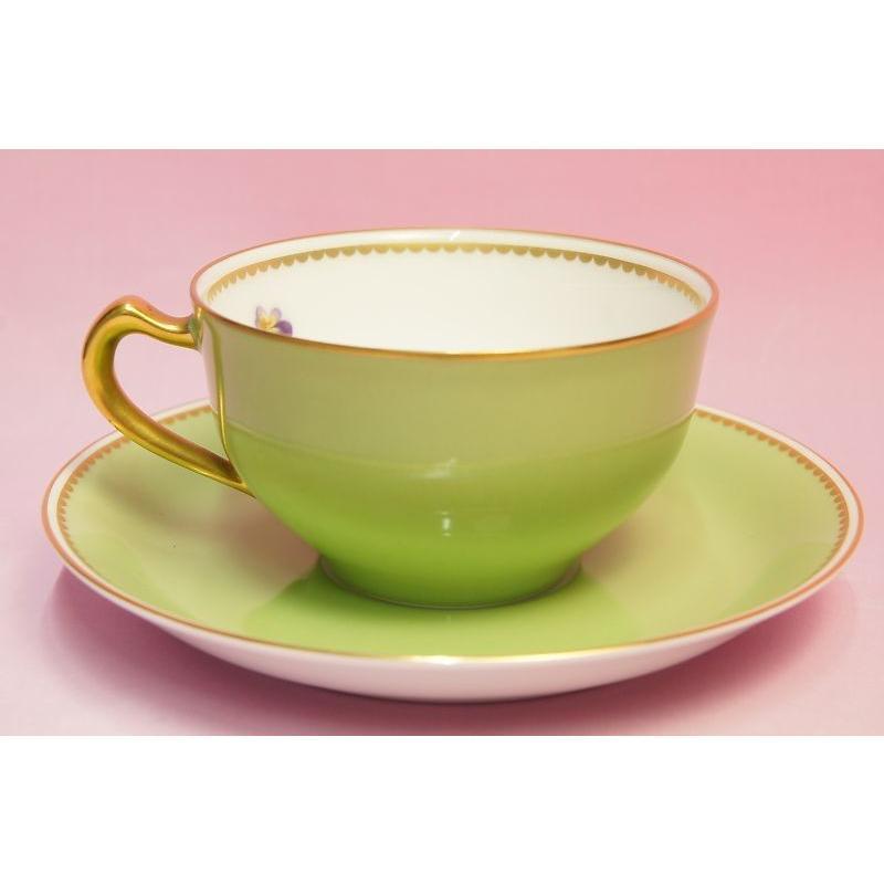 大倉陶園 パンジー ティー碗皿|shokki|07