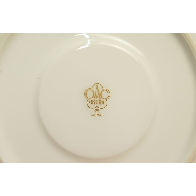 大倉陶園 パンジー ティー碗皿|shokki|09