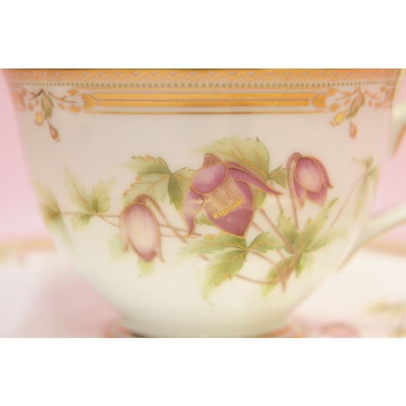 ノリタケ ガラコンテッサ ティー・コーヒー碗皿|shokki|03