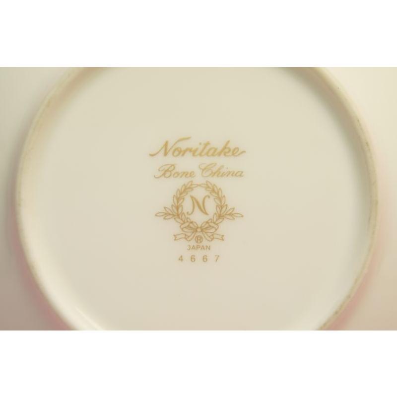 ノリタケ (宝石シリーズ) ブラックパール デミタス碗皿 shokki 08