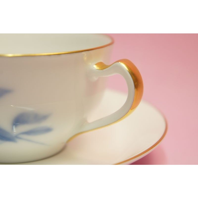大倉陶園 ハイドランジャー(アジサイ) ティー・コーヒー碗皿 shokki 04