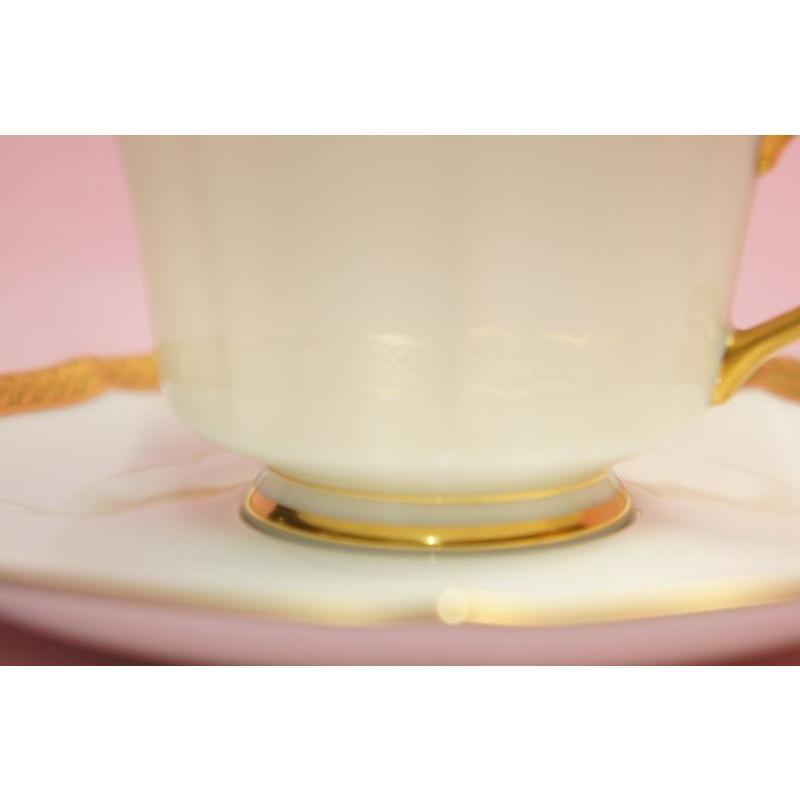 ノリタケ・ダイヤモンドコレクション ♯5536 ゴールデンシンプリシティ ティー・コーヒー碗皿|shokki|03