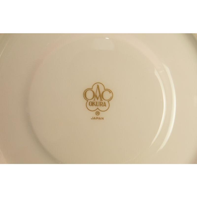 大倉陶園 モーニング碗皿(ピンク蒔き)|shokki|04