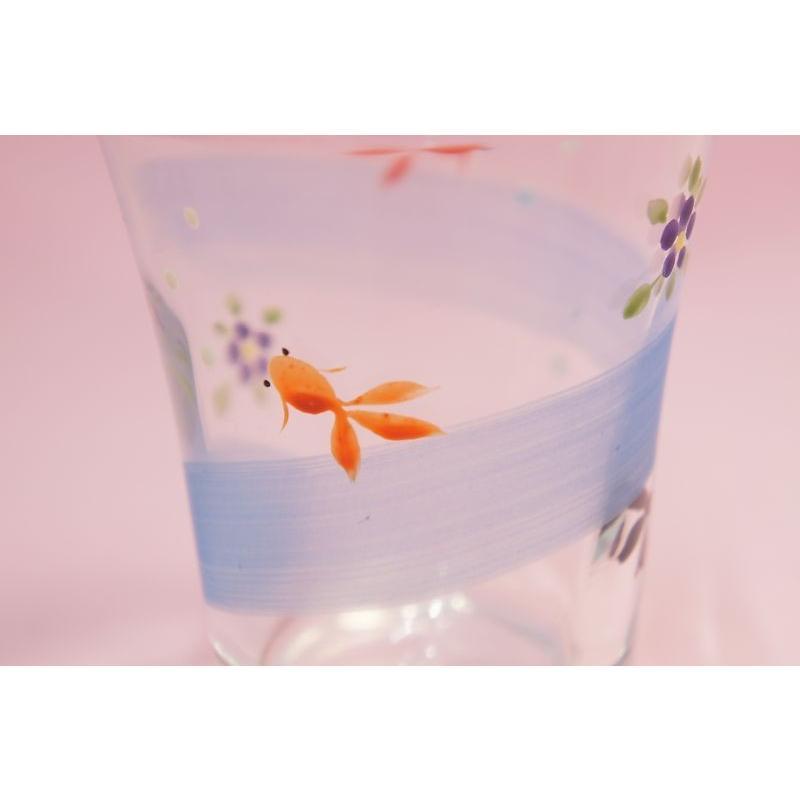 金魚 ミニグラス shokki 03
