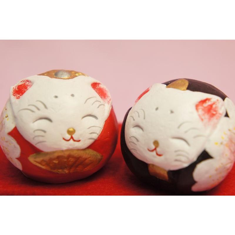 ひな人形 蝉丸 丸猫雛|shokki|02