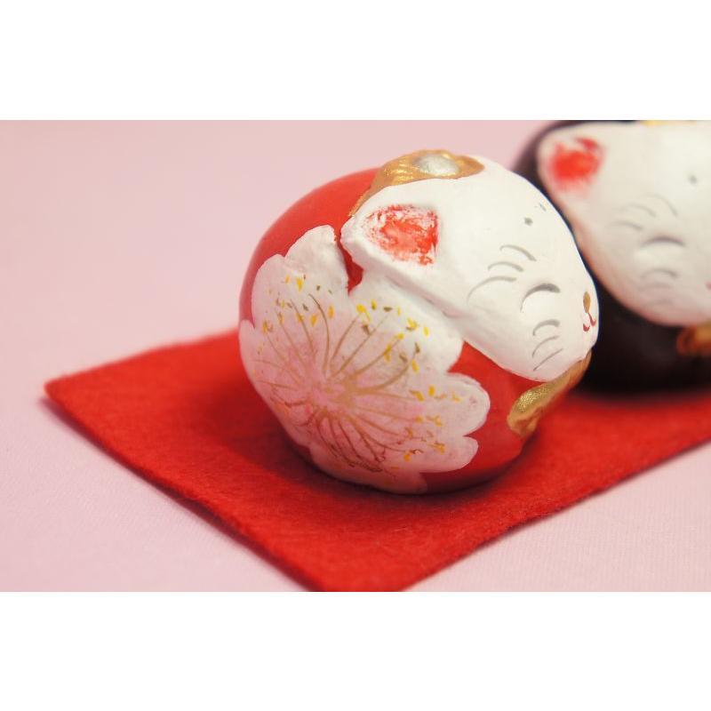 ひな人形 蝉丸 丸猫雛|shokki|03