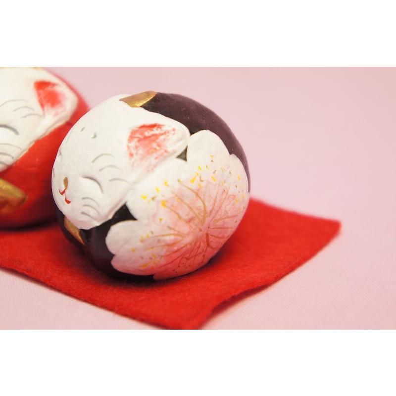 ひな人形 蝉丸 丸猫雛|shokki|04