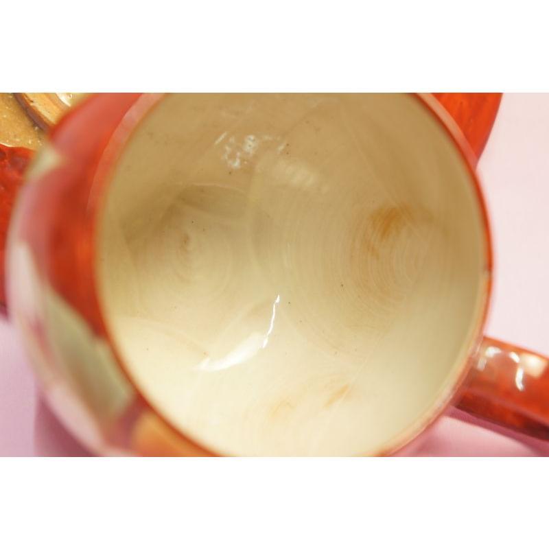赤濃桜 コーヒー碗皿|shokki|04