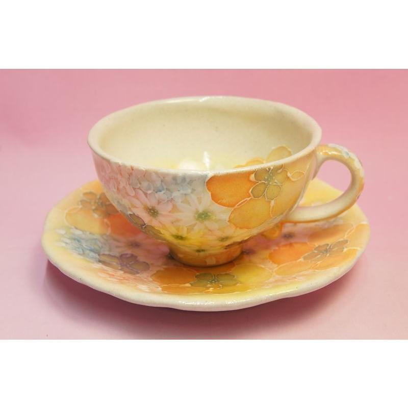 ゆずりは 平安京花 碗皿|shokki