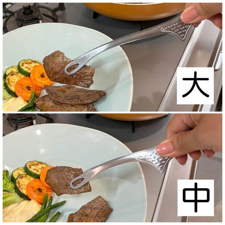 仙武堂 焼肉トング 足付き 大 自立式 衛生的 日本製 ステンレス 一体成型 頑丈 スタイリッシュ shokkishibuya 05