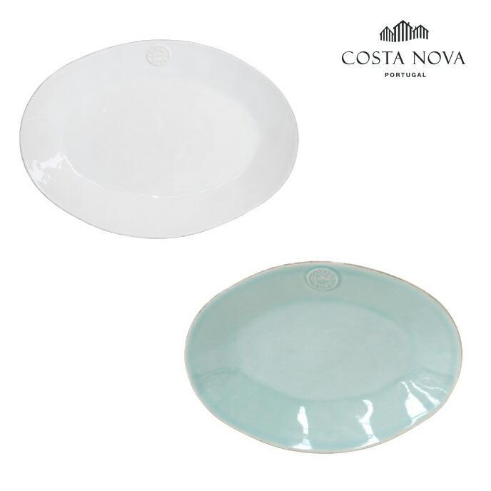 コスタノバ COSTA NOVA オーバルプラターM  プレート 食器 磁器 ポルトガル製 おしゃれ 食洗機対応 電子レンジ対応 オーブン対応|shokkishibuya