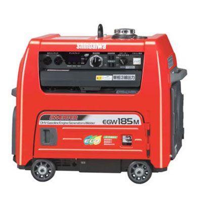 新ダイワ(やまびこ) エンジン溶接機(発電機兼用)防音型代引不可 EGW185M-IST