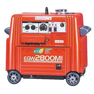 新ダイワ(やまびこ) エンジン溶接機EGW2800MI溶接機代引不可